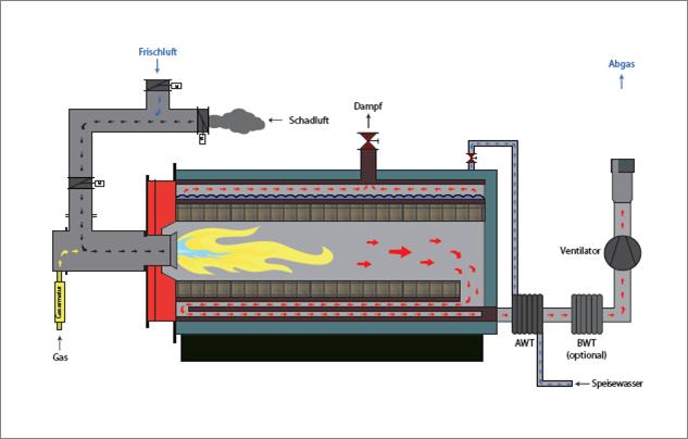 TNV 2-in-1 - BKB Energieeffizienz und Kostensenkung